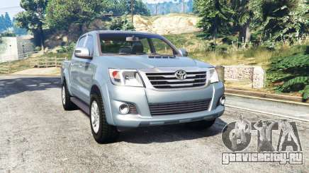 Toyota Hilux Double Cab 2012 [replace] для GTA 5