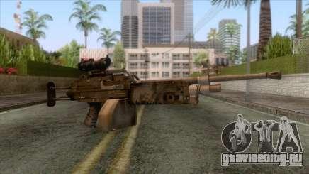 FN Minimi with ACOG Sights для GTA San Andreas
