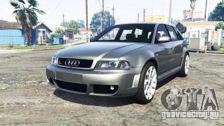 Audi RS 4 Avant (B5) 2001 v1.2 [add-on] для GTA 5