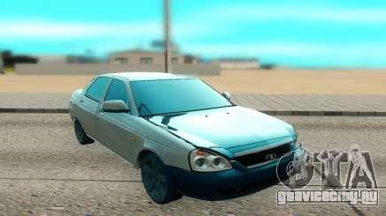 ВАЗ 2170 белый для GTA San Andreas