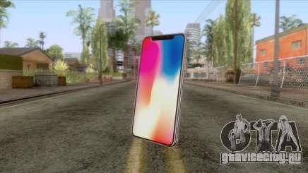 iPhone X Black для GTA San Andreas