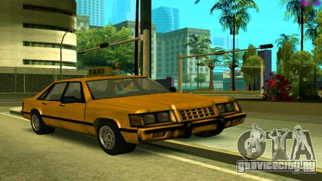 Taxi from GTA Vice City для GTA San Andreas