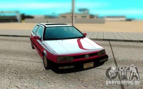 Volkswagen Golf Mk3 для GTA San Andreas