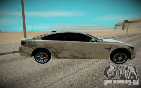 BMW M4 TR для GTA San Andreas вид слева