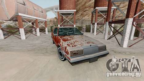 Chrysler New Yorker 1988 Rusty для GTA San Andreas
