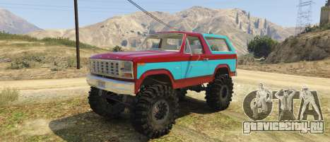 Ford Bronco MudSlinger 1980 для GTA 5