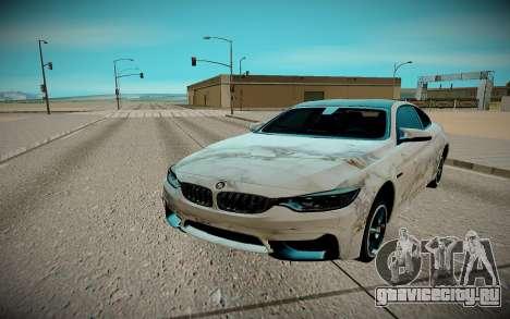 BMW M4 TR для GTA San Andreas вид справа