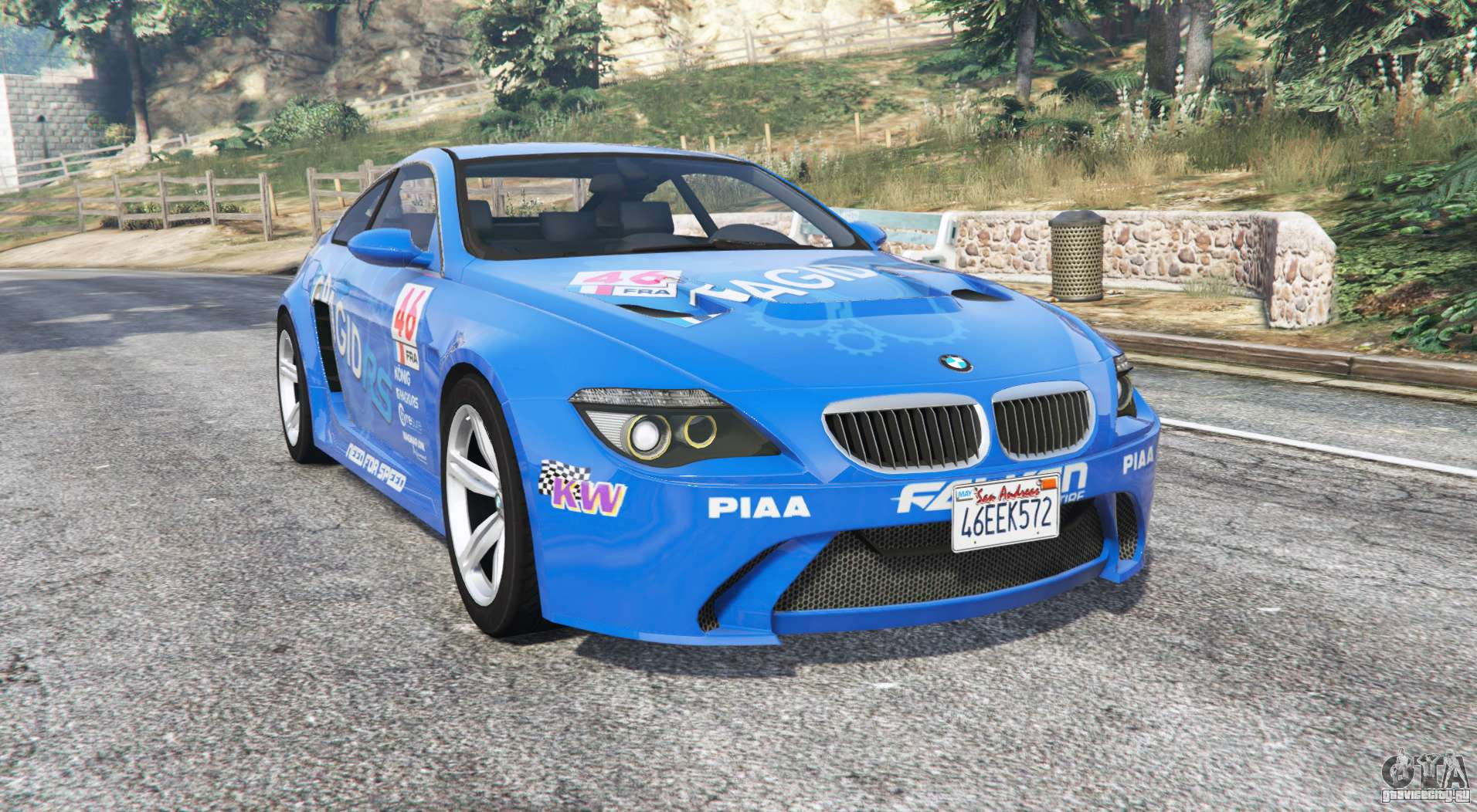 bmw m6 e63 widebody pagid rs v0 3 replace gta 5. Black Bedroom Furniture Sets. Home Design Ideas