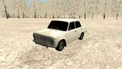 ВАЗ 2101 белый для GTA San Andreas