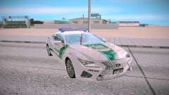 Lexus RC F Dubai Police для GTA San Andreas