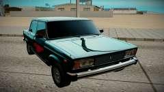 ВАЗ 2105 чёрный для GTA San Andreas