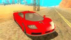 Progen GP1 LM GTR для GTA San Andreas