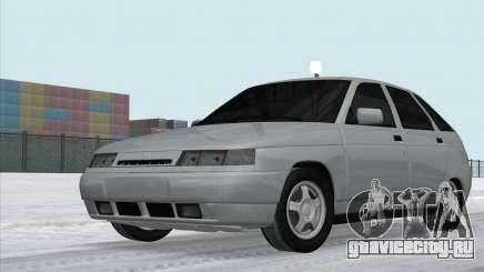 ВАЗ 2112 Белый Сток для GTA San Andreas