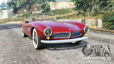 BMW 507 1959 v2.0 [replace] для GTA 5
