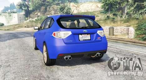 Subaru Impreza WRX STI (GRB) v1.2 [replace]