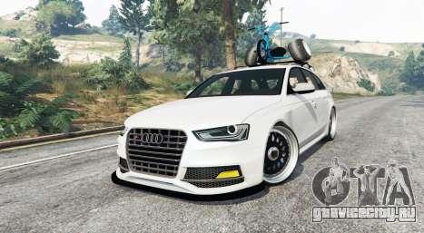 Audi RS 4 Avant (B8) 2014 v1.1 [replace] для GTA 5 вид справа