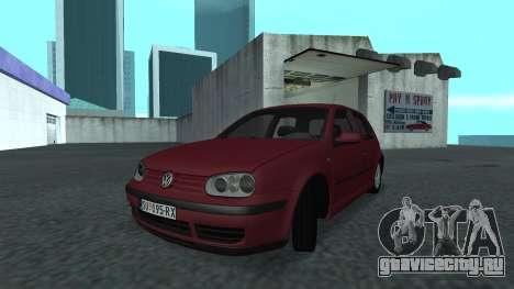 1999 Volkswagen Golf Mk4 для GTA San Andreas