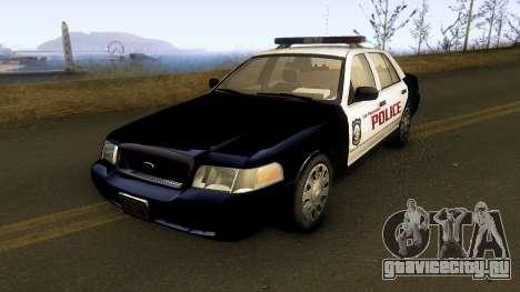 Ford Crown Victoria Las Payasadas PD для GTA San Andreas