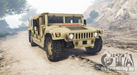 HMMWV M-1116 Unarmed Desert [replace] для GTA 5