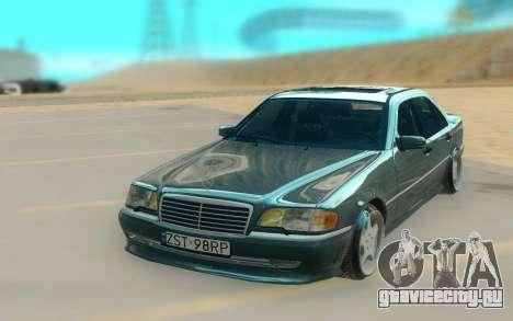 Mercedes Benz W202 Black Bandit для GTA San Andreas