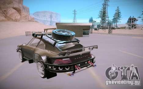 GTA V Pfister Comet Safari для GTA San Andreas вид сзади
