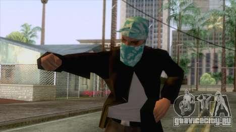 New Varios Los Aztecas Skin 2 для GTA San Andreas