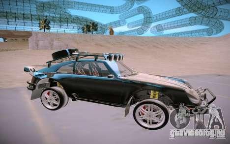 GTA V Pfister Comet Safari для GTA San Andreas вид сзади слева