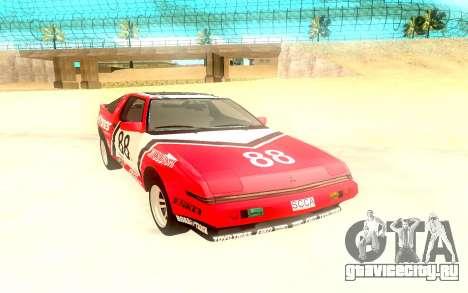 Mitsubishi Starion ESiR US-Spec 1986 для GTA San Andreas