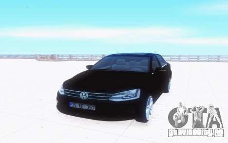 Volkswagen Jetta TSI для GTA San Andreas