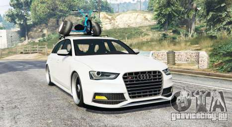 Audi RS 4 Avant (B8) 2014 v1.1 [replace] для GTA 5