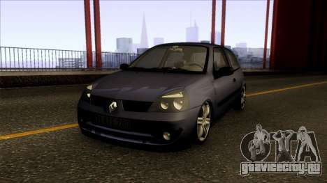 Renault Clio Coupe 2005 для GTA San Andreas
