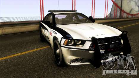 Dodge Charger 2012 LSPD для GTA San Andreas