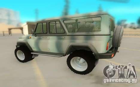 UAZ 29661 для GTA San Andreas