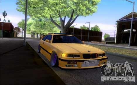 BMW M3 E36 Hamann для GTA San Andreas вид справа