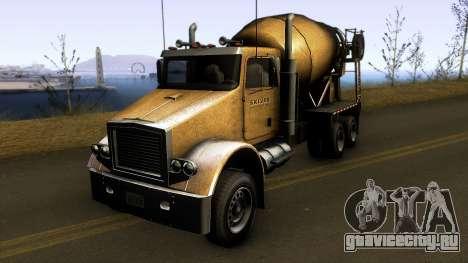GTA V HVY Mixer2 для GTA San Andreas