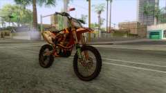 KTM 450 SF-X Redbull для GTA San Andreas