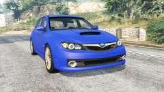 Subaru Impreza WRX STI (GRB) v1.2 [replace] для GTA 5