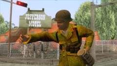 World War II - Camouflage Taiwanese Soldier для GTA San Andreas