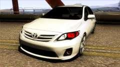 Toyota Corolla 2011 Comfort Extra для GTA San Andreas