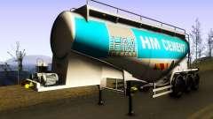 HM Cement Trailer для GTA San Andreas