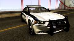 Dodge Charger 2012 LSPD для GTA San Andreas