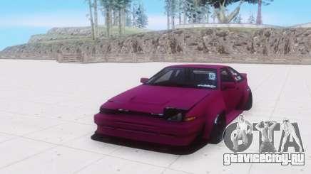 Toyota AE86 серый для GTA San Andreas