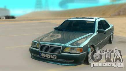 Mercedes Benz W202 Black Bandit для GTA San Andreas