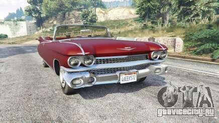 Cadillac Eldorado Biarritz 1959 v1.1 [replace] для GTA 5