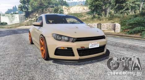 Volkswagen Scirocco v1.1 [replace] для GTA 5