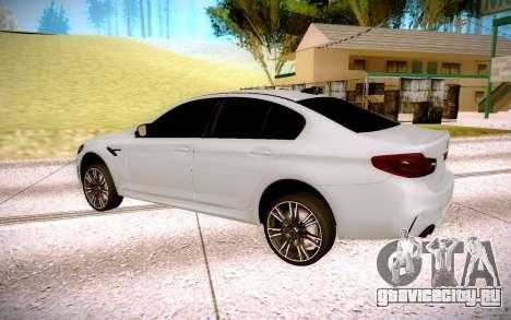 BMW M5 F90 для GTA San Andreas вид справа