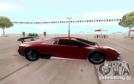 Lamborghini Murcielago SV для GTA San Andreas