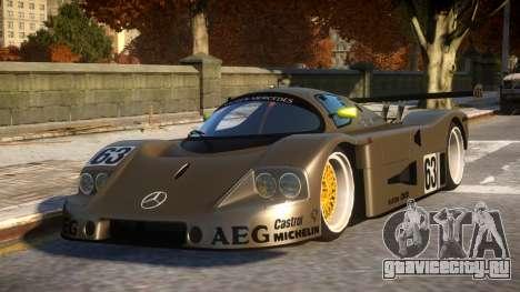 Mercedes C9 PRO le mans VIP car mod REL для GTA 4