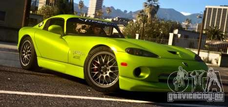 1999 Dodge Viper GTS ACR 1.4 для GTA 5