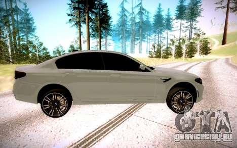 BMW M5 F90 для GTA San Andreas вид слева